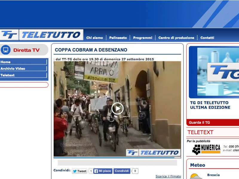 TELETUTTO.IT - Coppa Cobram a Desenzano
